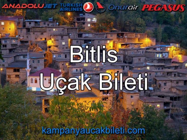 Bitlis Uçak Bileti