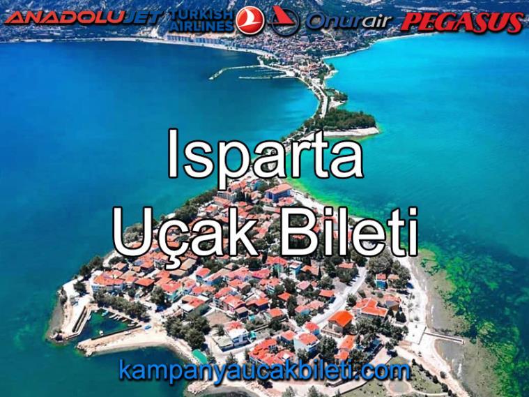 Isparta Uçak Bileti