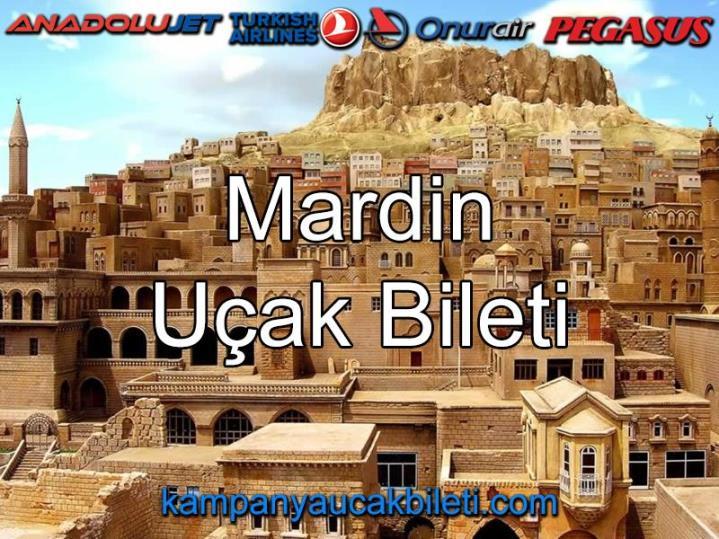 Mardin Uçak Bileti