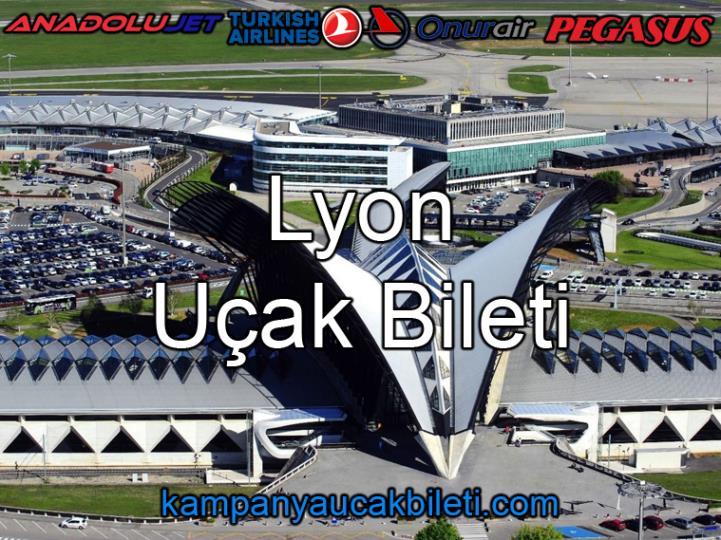 Lyon Havalimanı Uçak Bileti