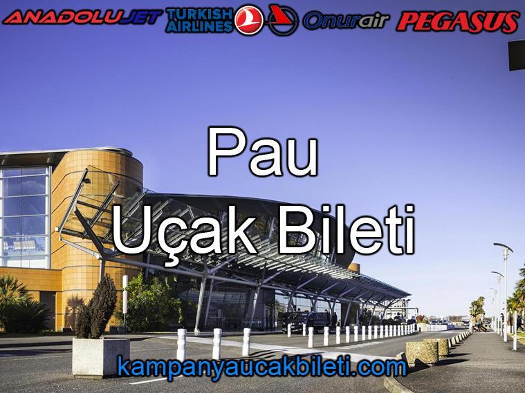 Pau Havalimanı Uçak Bileti