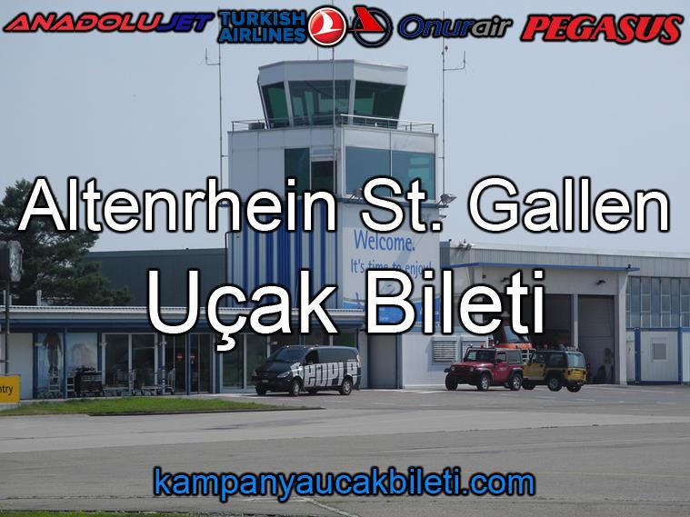 Altenrhein St. Gallen Havalimanı Uçak Bileti