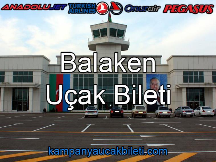 Balaken Havalimanı Uçak Bileti