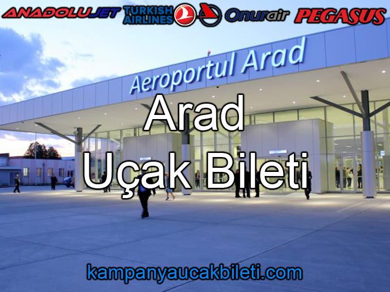 Arad Havalimanı Uçak Bileti