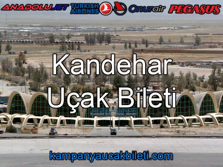 Kandehar Havalimanı Uçak Bileti
