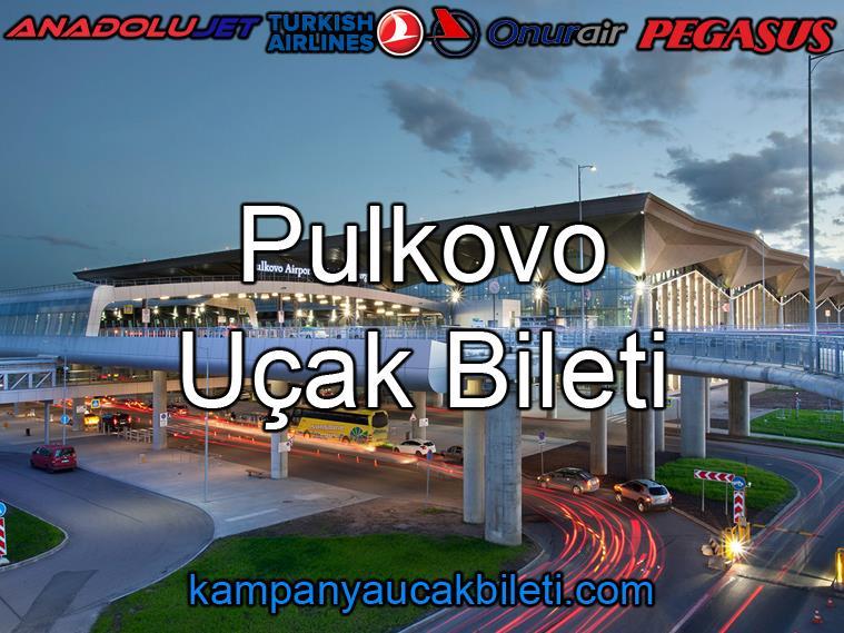 Pulkovo Havalimanı Uçak Bileti