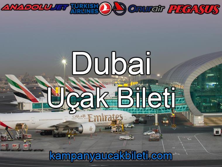 Dubai Havalimanı Uçak Bileti