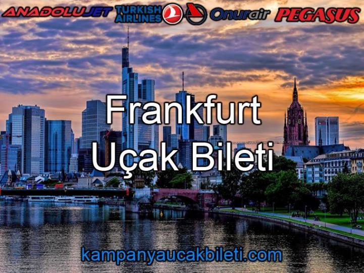 Frankfurt Uçak Bileti
