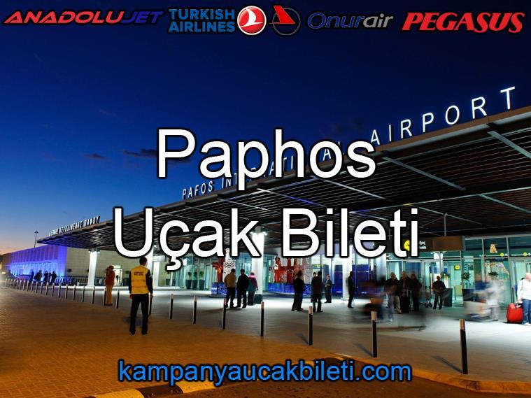 Paphos Havalimanı Uçak Bileti