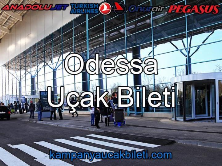 Odessa Havalimanı Uçak Bileti