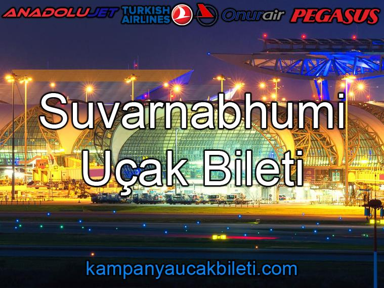 Suvarnabhumi Havaalanı Uçak Bileti