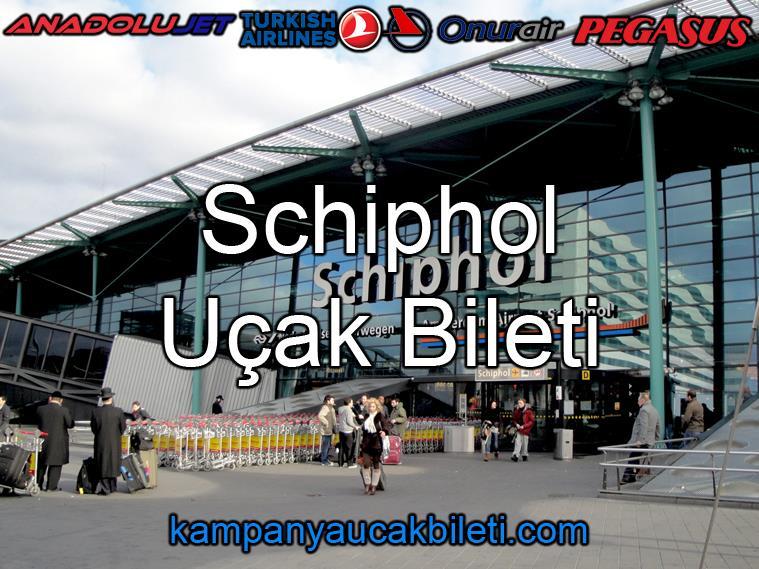 Schiphol Havalimanı Uçak Bileti