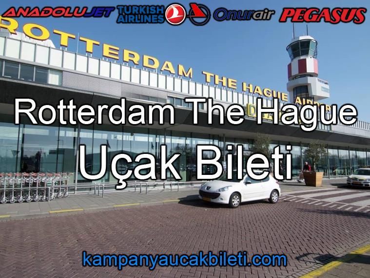 Rotterdam The Hague Havalimanı Uçak Bileti