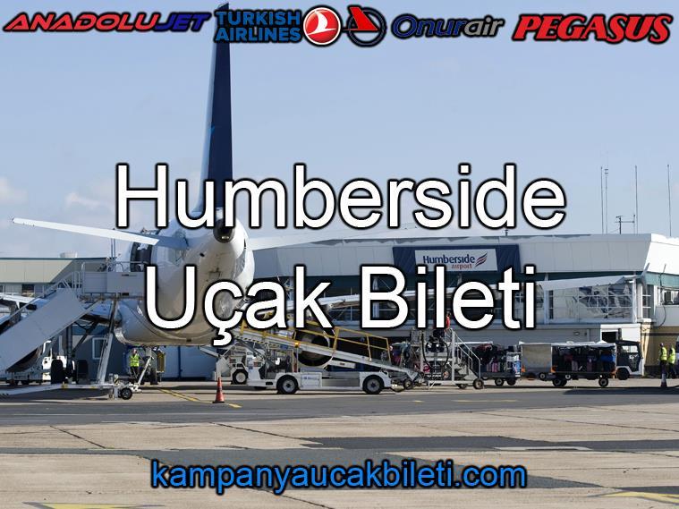Humberside Havalimanı Uçak Bileti