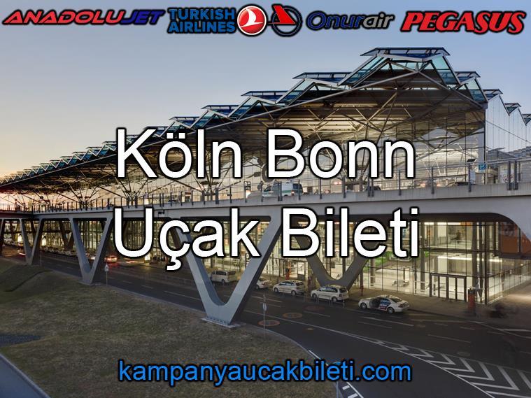 Köln Bonn Havalimanı Uçak Bileti