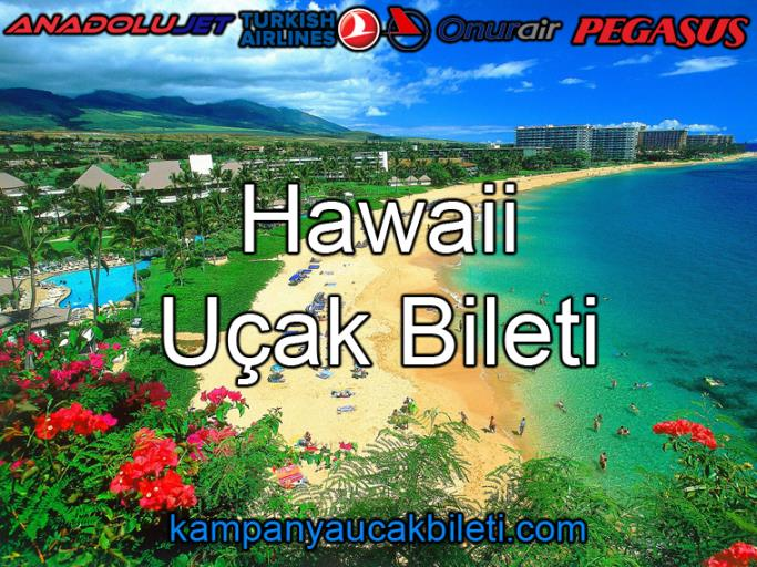 Hawaii Uçak Bileti