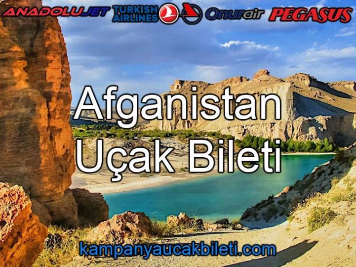 Afganistan Uçak Bileti