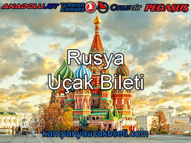Rusya Uçak Bileti